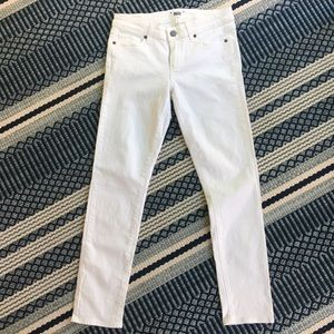 White PAIGE Skinny Jeans